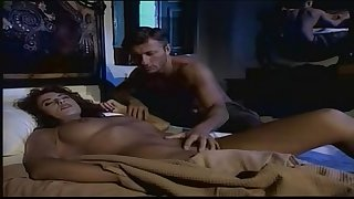 Beautiful italian brunette fucks older man in bedroom!